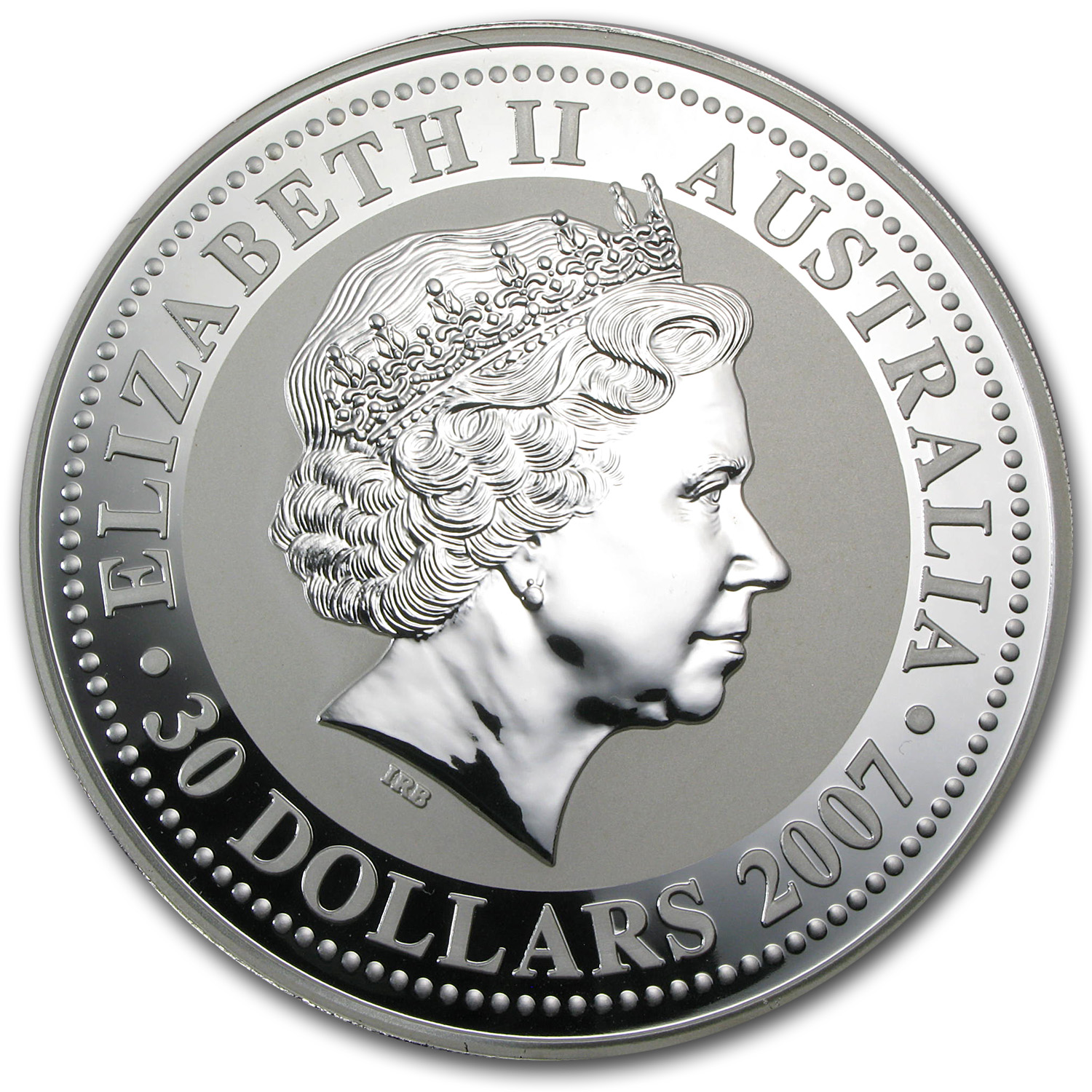 2009 1 kilo Silver Australian Year of the Ox BU (Series I)